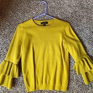 Sweaters - Ann Taylor Ruffle Sleeve sweater